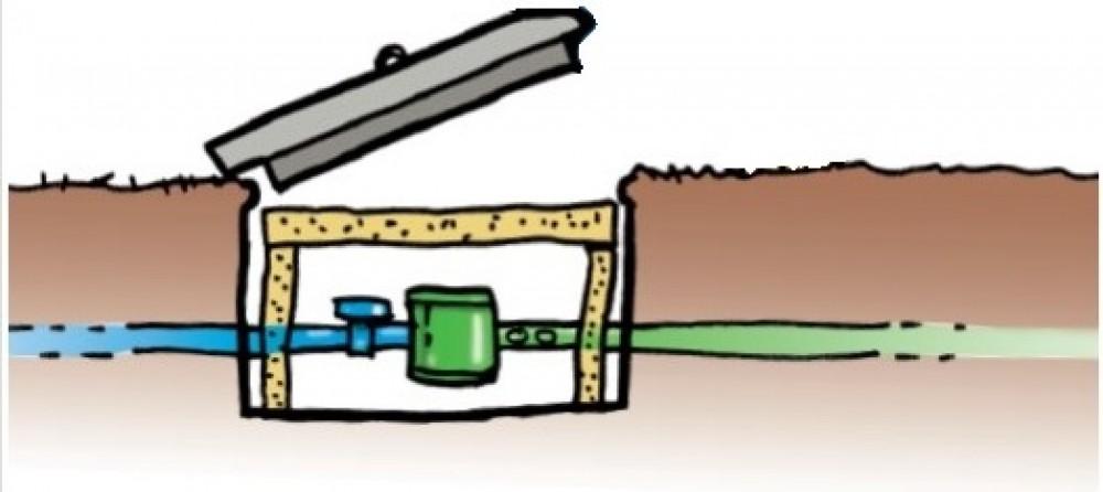 Prot gez votre installation contre le gel sebvf - Regard compteur d eau exterieur ...